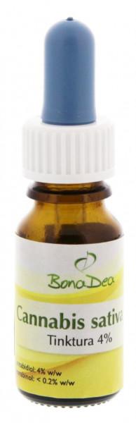 BonaDea Cannabis sativa L. Tinktura 4% 10 ml