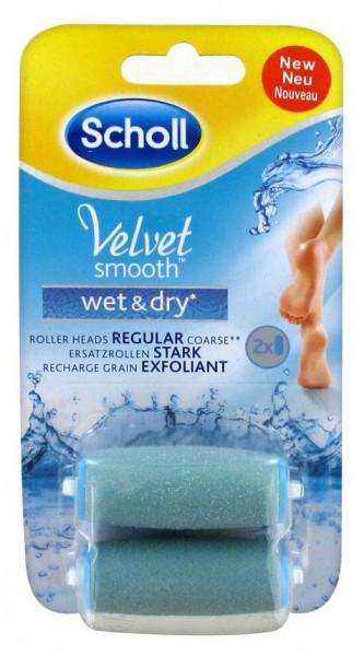 Scholl Velvet Smooth Wet&Dry Ersatzrollen