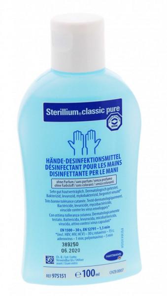 Sterillium classic PURE Händedesinfekt