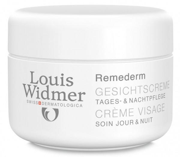 WIDMER REMEDERM Crème Visage Parf