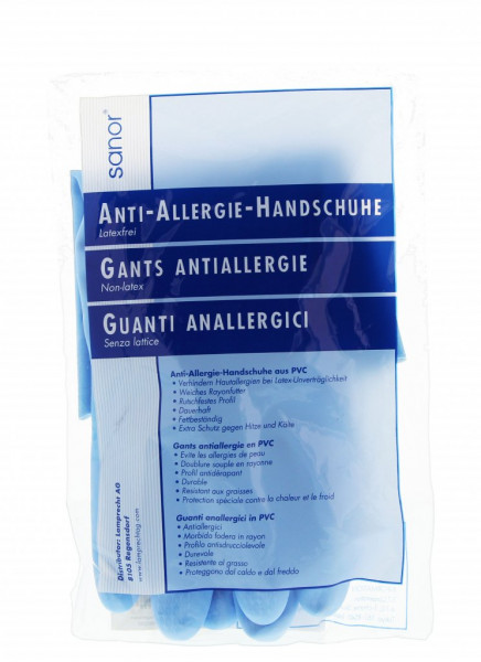 Sanor Anti Allergie gants PVC