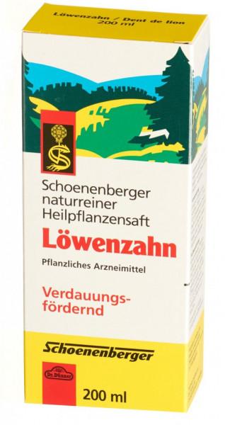 Schoenenberger Löwenzahn Heilpflanzensaft