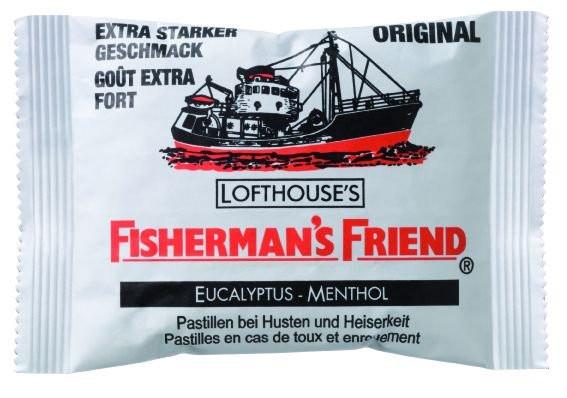 Fisherman's Friend Eucalyptus-Menthol