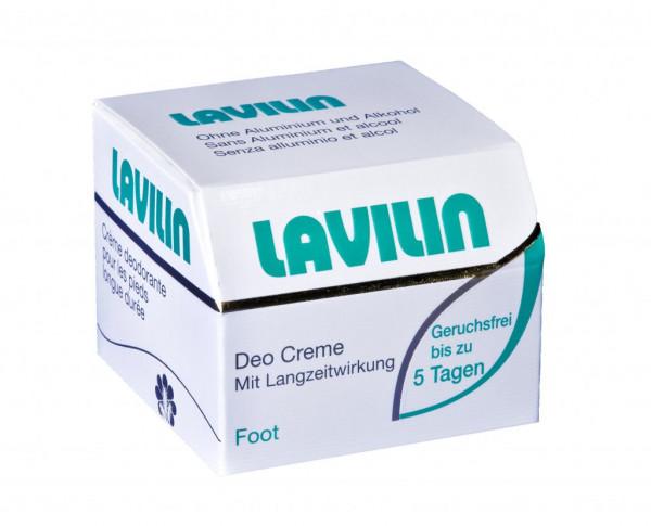 Lavilin foot deodorant cream