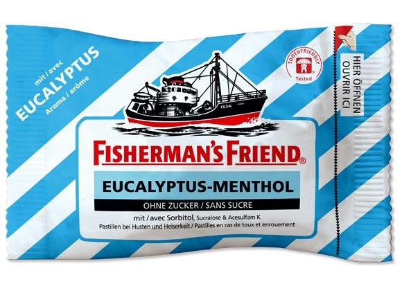 Fisherman's Friend Eucalyp-Menthol o.Zucker