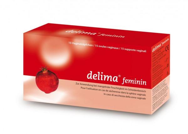 Delima Feminin Vaginal Zäpfchen