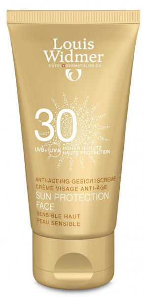 WIDMER Sun Protection Face SPF 30 Unparf