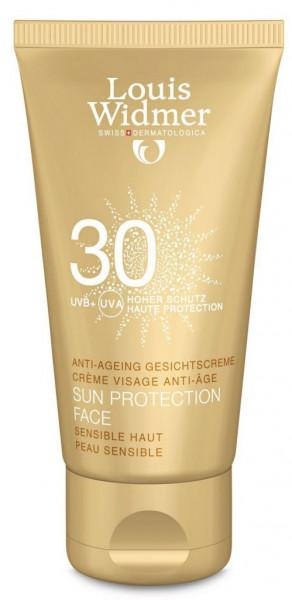 WIDMER Sun Protection Face SPF 30 Unparf