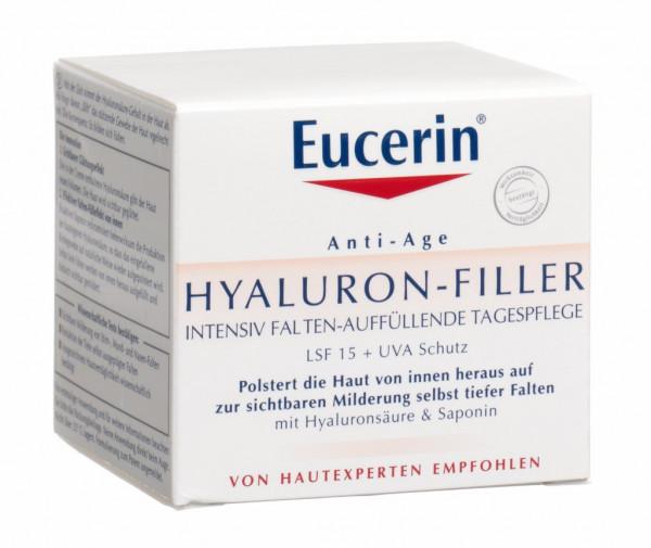 Eucerin Hyaluron Filler Gesichtspflege Tag, Topf, 50 ml