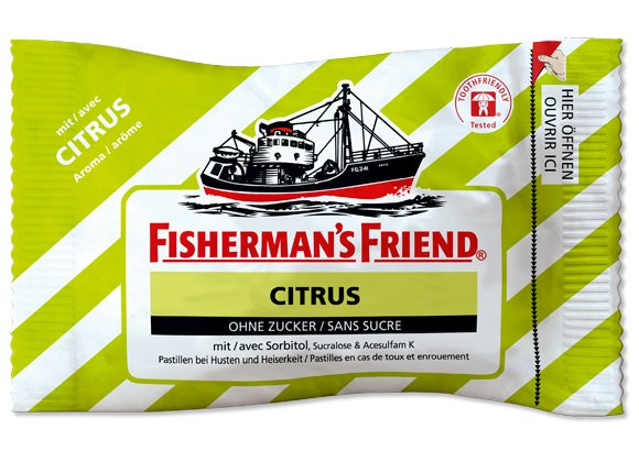 Fisherman's Friend Citrus