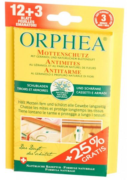 Orphea feuilles antimite