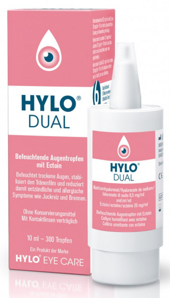 Hylo-Dual Augen Tropfen