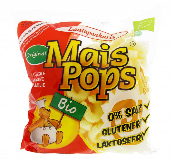 Maispops der gesunde Kinder-Snack