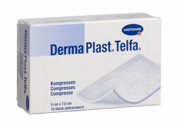 DermaPlast Telfa Kompressen